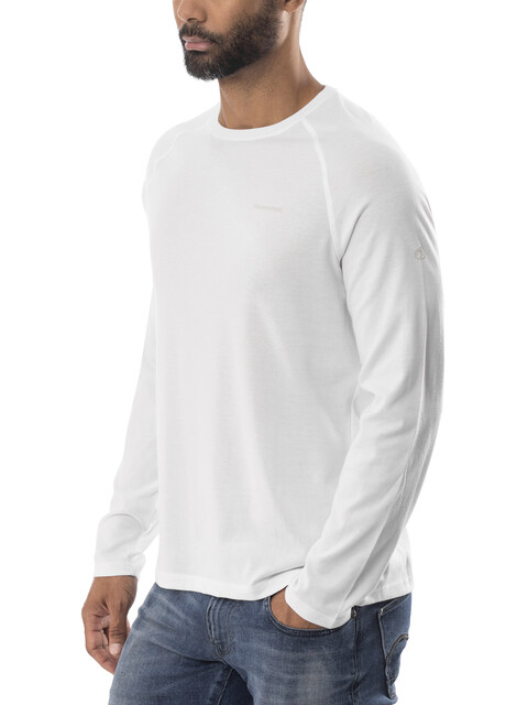Craghoppers NosiLife Bayame Longsleeve T-Shirt Men Optic White